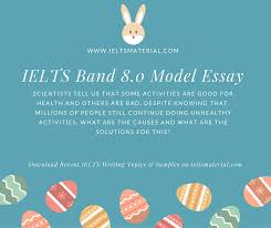 ielts writing task cause solution essay of band topic health com ielts writing task 2 sample answer topic health