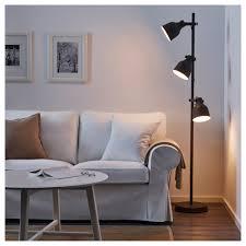 Light Hektar Floor Lamp With Spot Dark Grey Living Lighting Lamps