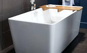 cast iron deep soaking tub alcove