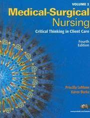 Priscilla/ Burke Lemone Books - Biography and List of Works - Author of  'Medical-Surgical Nursing'