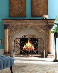 crystal fireplace screen arched fireplace screen beautifully patterned fireplace screen adds visual interest to the fireplace