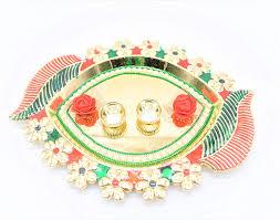Rakhi Thali Design Buy Raksha Bandhan Exclusive Rakhi Thali With 1 Graphic
