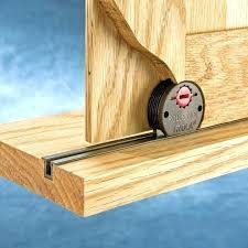 how cabinet door track sliding home depot to make glass doors aluminum runners p