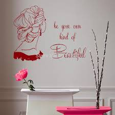 Beauty Parlour Quotes Best of Hair Salon Wall Sticker Girl Quotes Beauty HAir Shop Mural Decal PVC