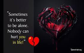 Nobody Can Hurt Sad Whatsapp Status Sad Love Quotes Quotescraft