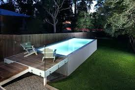above ground pool on concrete above ground pool on concrete concrete geometric pool above ground with above ground pool on concrete