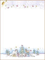 Christmas Letterhead Template Free Printable Christmas Stationary Templates