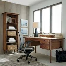 crate and barrel home office. Kendall Walnut Bookcase | Crate And Barrel Home Office O
