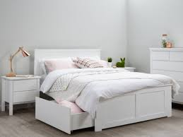 Double Beds Of Impressive With Storage White Kids Bedroom Furniture ...