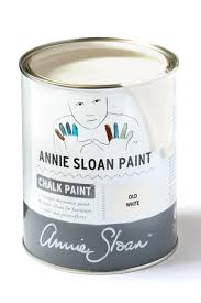 white furniture paintOld White  Chalk Paint  Annie Sloan