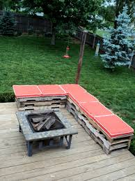 diy outdoor pallet sectional. 15 Of The Best Backyard DIY Projects | Craftiest Couple Diy Outdoor Pallet Sectional C