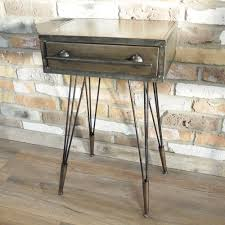 industrial furniture table.  Table Vintage Style Metal Bedside Cabinet Cupboard Throughout Industrial Furniture Table