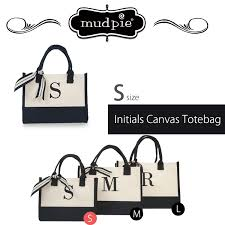 Mud Pie Women S Size Chart Mud Pie Initial Canvas Tote S Mudpie Mad Pie Canvas Initial Thoth Canvas Thoth Celebrity Habitual Use Monotone Magazine Mention Small Size Mothers