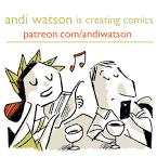 Andi Watson biography