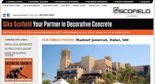 Access Scofield Com Concrete Color From Scofield The Most