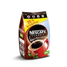 Купить <b>кофе растворимый NESCAFE</b> classic, 900г в торговых ...
