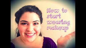 how to start wearing makeup colab with kenniasbeautychannel