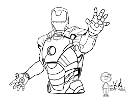 Small Picture Coloring Pages Of Iron Man anfukco