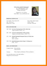 Cv For Job Application Sample How Write A Good Functional Pictures