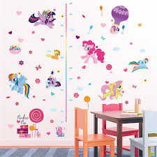 Cartoon My Little Pony Ponies Wall Stickers For Kids Rooms