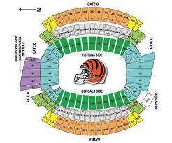 Paradigmatic Paul Brown Seating Map Denver Mile High Stadium