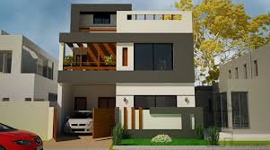 6 Marla House Front Design This Is A Standard 5 Marla House Front Design With The
