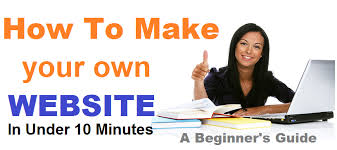how to make a free how to make your own website in under 10 minutes easy web tutorials