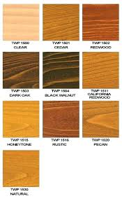 Natural Wood Stain Colors Goldearth Co