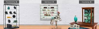 Standing Watch Display Case Display Cases Acrylic Metal Glass Counters Cabinets 49