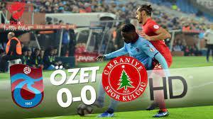 Trabzonspor - Ümraniyespor Maç Özeti