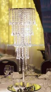 wedding crystal chandelier centerpieces table chandeliers for with regard to amazing property table top chandeliers remodel