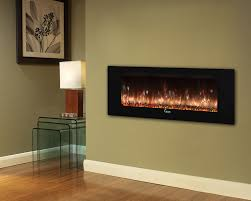 bwood linear wall mount electric fireplace