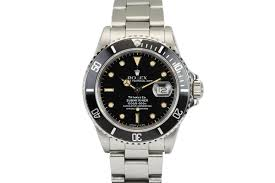 1986 rolex submariner retailed for tiffany co watch for prev next close