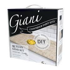 Giani Countertop Transformations Sicilian Sand High-Gloss Countertop  Resurfacing Kit (Actual Net Contents:
