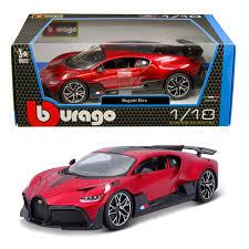 Sc&dc sports cars and diecast channel. Bburago 18 11045 Bugatti Divo 1 18 Red Bt Diecast