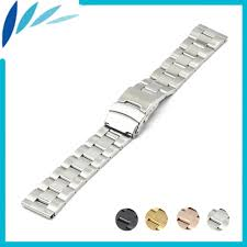 <b>Stainless Steel Watch Band</b> 18mm 20mm 22mm 24mm for Armani ...