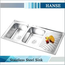stainless steel kitchen sink whole suppliers undermount sinks with drainboard double inch double bowl radius kitchen sink with drainboard