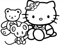 Hello kitty is a cute kitten created in 1974 by the sanrio company in japan, and soon became a fashion phenomenon known to all. Coloring Pages For Toddler Pdf Princess Hello Kitty Kids Printable Rainbow Book Christmas Cartoon Golfrealestateonline