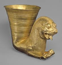 the achaemenid persian empire b c essay heilbrunn fluted bowl fluted bowl acircmiddot vessel terminating in the forepart of a fantastic leonine creature