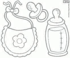 Voeding Voor Babys Kleurplaat Thema Baby Baby Coloring Pages