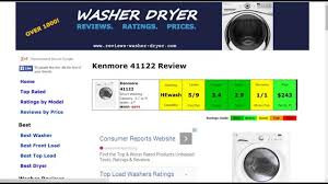 kenmore 41122. kenmore 41122 washer review 2