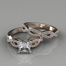 infinity diamond wedding band. infinity-design-princess-cut-man-made-diamond-engagement- infinity diamond wedding band i