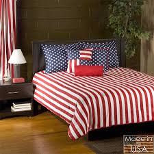 American Flag Stars and Stripes Twin XL forter Set