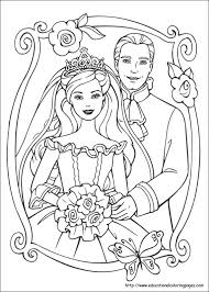 c39e3f8873b1d4083bc10f73dba14120 barbie princess and pauper coloring pages educational fun kids on wedding worksheets