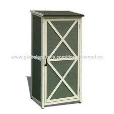 china wooden garden storage cabinet on