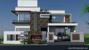 home design d front elevation square yards house plan d front 3d