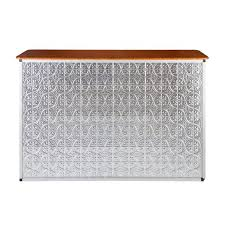 pressed metal furniture. Bar \u2013 Pressed Tin Silver Metal Furniture N
