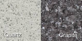 learn the differences between granite and quartz countertops
