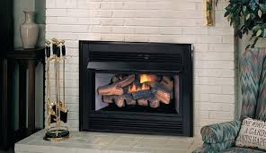 superior vent free gas fireplace insert logs savannah oak 24 in propane with remote