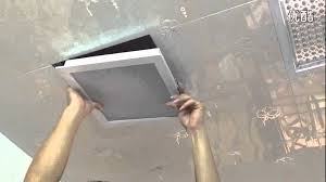 deselen led panel light square 300 300mm embedded installation you